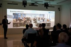 Die Präsentation im Komeptenzzentrum Virtual Engineering Rhein-Neckar: Die Präsentation im Komeptenzzentrum Virtual Engineering Rhein-Neckar